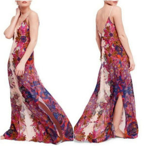 NWT FP Wildflower Slip maxi Dress